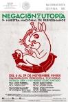 cartel muestra nacional de performance